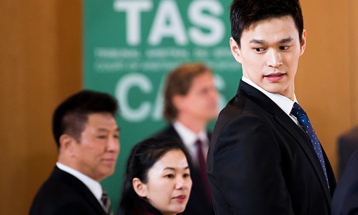 孙杨暴力抗检案国际体育仲裁法庭:错在摧毁样本禁赛因有前科