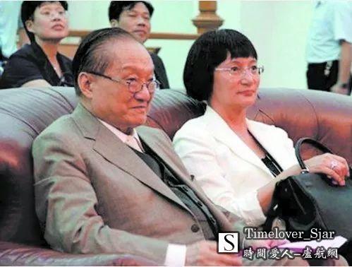 金庸与太太林乐怡